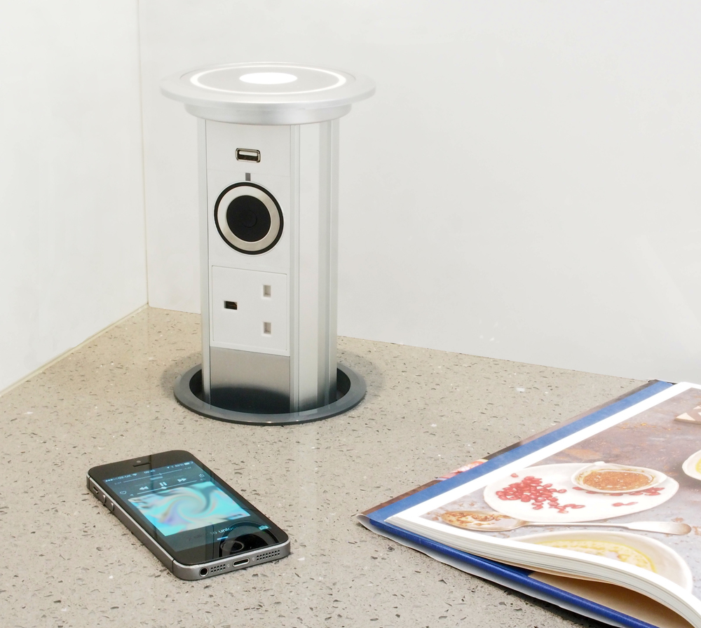 Bluetooth Audio Motorised Pop Up Socket