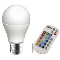 GLS RGB and Warm White LED Lamp