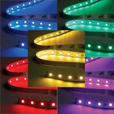 RBG IP65 Waterproof Colour Changing LED Tape - 3m Cut Length