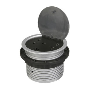 Powerport - 1 UK Electrical Socket For Worktops