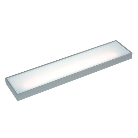 LED Illuminated Floating Box Shelf Light