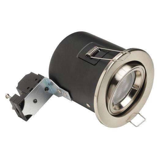 GU10 Fire Rated Ceiling Spotlight - Tilt
