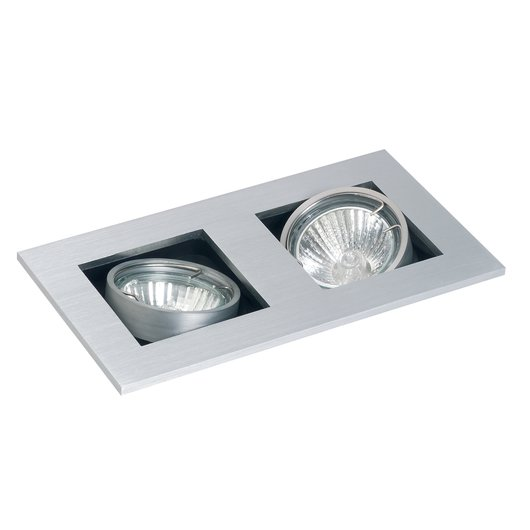 GU10 Studio Tilt Ceiling Spotlight - Twin