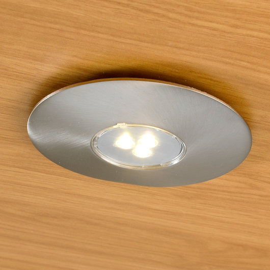 3 Watt Disk Light - High Output LED Surface Mounted Under Cabinet Downlight