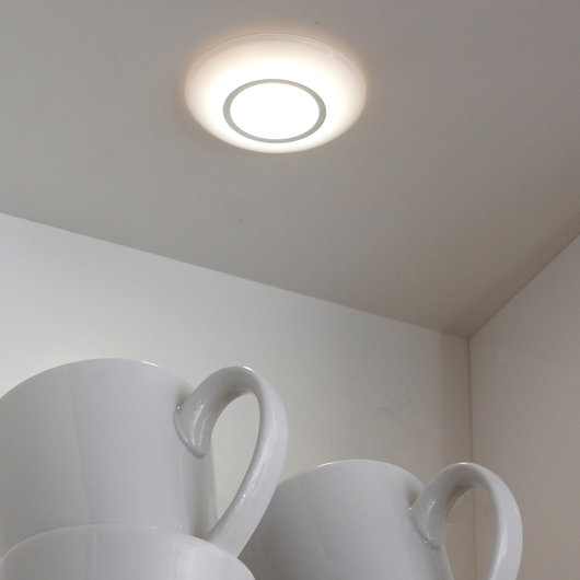 Sirius Circle - Surface Mounted Under Cabinet LED Downlight