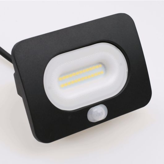 Culver 10W Slimline Outdoor LED Flood Light With PIR