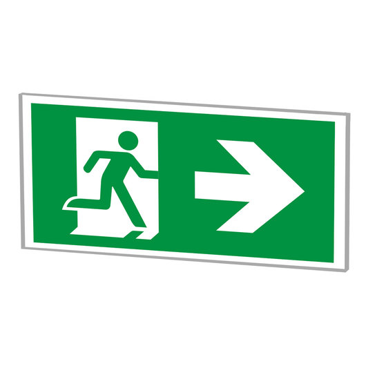 LED Wall Mounted Emergency Exit Signs
