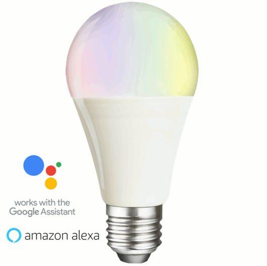 LED GLS Bulb Colour Changing & CCT Smart WiFi Lamp
