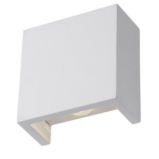 Sevilla - Gypsum Square Up/Down LED Wall Light