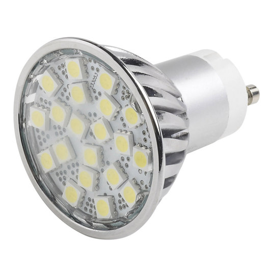 4 Watt 5050 Dimmable LED GU10 Bulbs