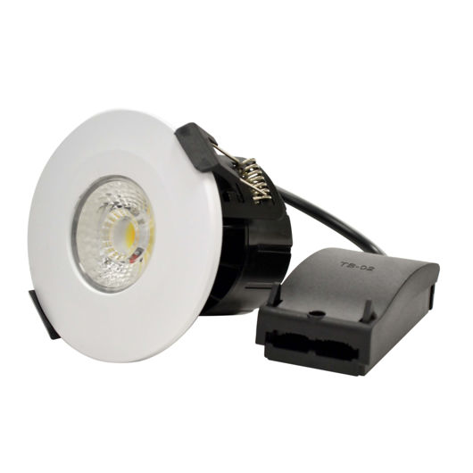 8 Watt Q2 Colour Temperature Adjustable Integrated LED FR Spotlight