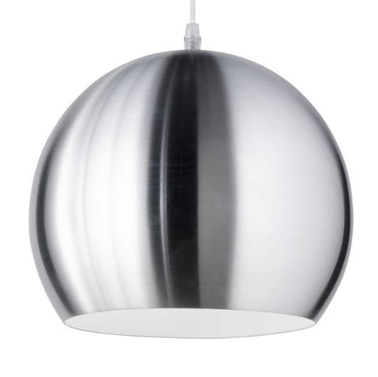 Globe Matt Nickel Modern Pendant Lighting