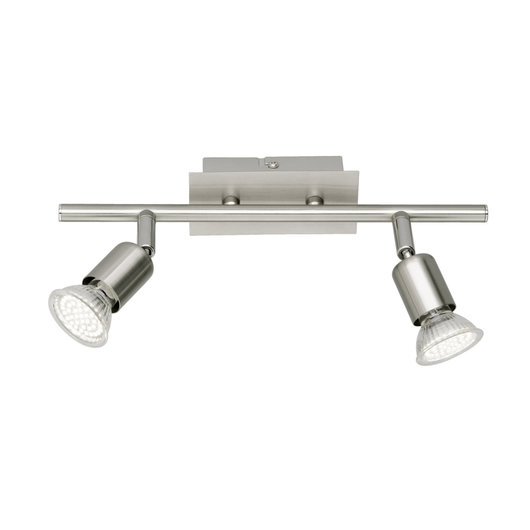 Nimes Twin Head - Contemporary Ceiling Spotlights