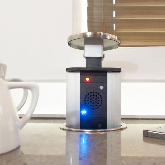 Power Tech Pop Up Sockets With USB Ports And Bluetooth Speakers