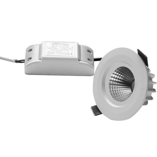 9W COB LED Shallow Depth Tilt Contemporary Ceiling Lights