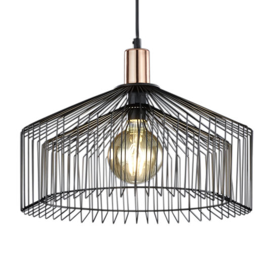Tanja Caged LED Ceiling Pendant Light, IP20 Rated