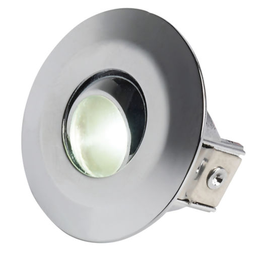 Adjustable Recessed 1.2W Display Cabinet Lighting