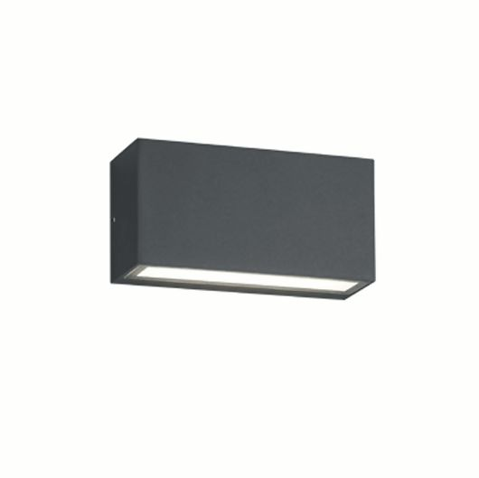Trent Contemporary Up Down LED Outdoor Wall Light